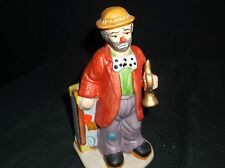Emmett Kelly Jr. Clown porcelain figurine