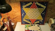 Old Star Chinese Checker Board & Marbles  Ballard Topeka, Kansas