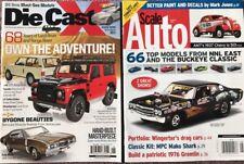 DCX Die Cast Magazine FALL 2017 & Scale Auto Model Car Magazine AUG 2017