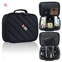 BUBM Universal Waterproof Travel Digital Data Line Charger Organizer Storage Bag