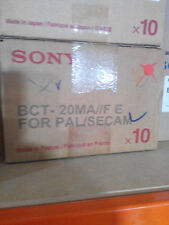 LOT OF 10 x SONY BCT-20MA =NEW=