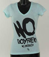 Boom Bap Shirt - NO - BB10-048 - MIXED ROYAL - türkis - V-Neck +Neu+