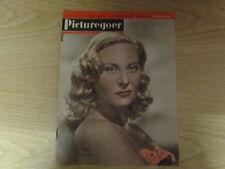March 1947, PICTUREGOER, Michele Morgan, Sally Ann Howes, John Payne, David Hand