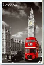 LONDON RED BUS, BIG BEN FRIDGE MAGNET