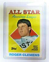 Roger Clemens #394 Baseball Pitcher All Star American League Card 1988 Topps