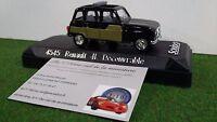 RENAULT 4L PARISIENNE DECOUVRABLE noir 1/43 SOLIDO 4545 voiture miniature collec