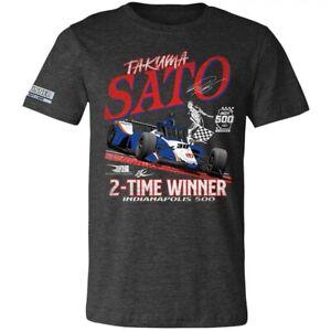 2020 Takuma Sato Indy 500 Winner Tee Shirt