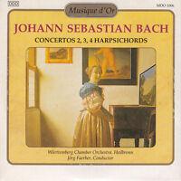 Johann Sebastian Bach CD Concertos 2,3,4 Harpsichords - France