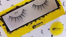 Eldora False Eyelashes M101 Multi-Layered Human Hair Strip Lashes