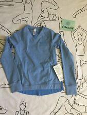 Lululemon,Ivivva Don't Skip A Beat Pullover, Size 10 ,Poty/Pool/, Msrp $ 64