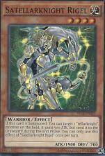 YU-GI-OH CARD: SATELLARKNIGHT RIGEL - SUPER RARE - SECE-EN025