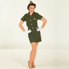 Polyester Complete Outfit Fancy Dresses 1940s Theme
