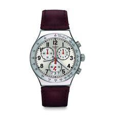 Relojes de pulsera Swatch de piel