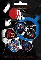 WHO THE WHO PLEKTRUMSET / GUITAR PICK SET # 2 PETE TOWNSHEND