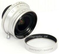 Voigtländer Snapshot-SKOPAR 25mm F4 MC SUPER-Wide-Angle Lens in LEICA M39 Screw