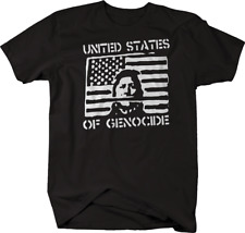 United States of Genocide Indian Native American Tshirt