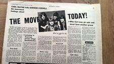 The MOVE ROY WOOD 'The Move today' 1969  UK ARTICLE / clipping