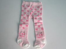 Pink Dog Tights feature Dogs & Flowers fits American Girl - Cute & Nice Quality!