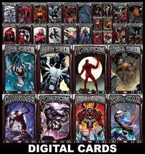 Topps Marvel Collect SYMBIOTES [30 CARD RED BASE SET] Venom/Carnage+++