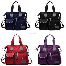 Pocket Big Women Nylon Lightweight Multi Capacity Handbags Shoulder Bag BE0D