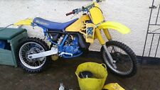SUZUKI RM250 SLINGSHOT 1988 spares or repairs/project