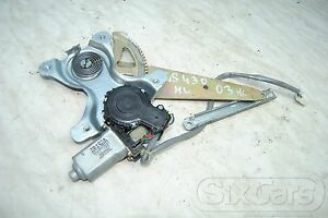Lexus GS 430 (S16) Window Regulator Window Lift Motor Left Rear 85710-30350