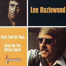LEE HAZELWOOD - POET FOOL OR BUM / BACK ON THE STREET AGAIN (CD 2004) 21 TRACKS