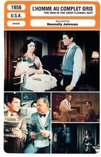 FICHE CINEMA : L'HOMME AU COMPLET GRIS - Peck 1956 Man In the Gray Flannel Suit