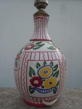 Lampe céramique d'époque Art Déco France Desvres