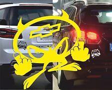 Aufkleber Teufel Chevrolet