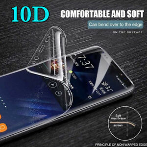 For One Plus 8 7T Pro 6T 6 10D Hydrogel Film Back Cover +Front Screen Protector