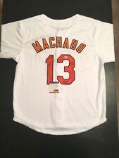 Manny Machado Orioles Autographed XL Baseball Jersey PSA Certified