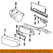 GM OEM Rear Wiper-Insert 22121329