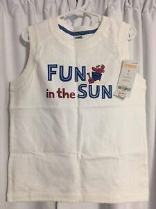 Gymboree Kids Tank Top Shirt Summer Crab 5T Retails $12.95 NEW!
