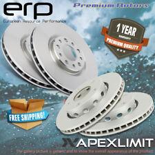 Front and Rea Premium Rotors for 2011-2012 Infiniti FX35