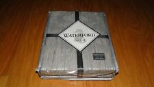 """Waterford for the Bath Atelier Shower Curtain Silver New 72"""" x 72"""""""