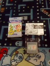 MONSTER WORLD II Wonder Boy 3 Dragon`s Trap Sega Game Gear rare