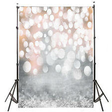 5x7ft Glitter Studio Props Vinyl Photography Backdrop Photo Prop Xmas Background