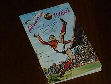 ALMANACCO CALCIO 1963-64 Ed. Omaggio ORFANATROFIO MASCHILE ANTONIANO - OTTIMO !!
