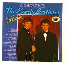 CD - The Everly Brothers - 20 Greatest Hits - A5068