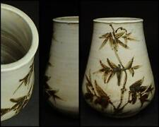 Korean Joseon Dynasty Vase Pot / W 13× H 16.5[cm] Pot Plate
