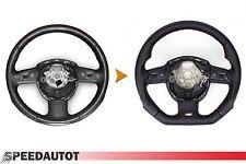 Scambio Tuning S-LINE spianate Volante Multifunzione Volante in Pelle Audi q7 23