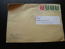 ALLEMAGNE (rda) - enveloppe (cy86) germany (1 timbre abime)