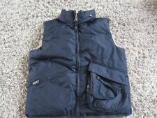 boys armani junior reversible  down puffa gilet/bodywarmer age 8a