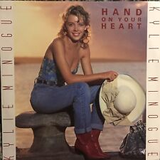 KYLIE MINOGUE • Hand On Your Heart • Vinile 12 Mix • 1989 PWL