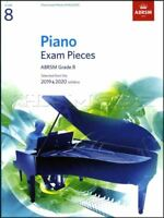 ABRSM Piano Exam Pieces 2019 2020 Syllabus Grade 8 Sheet Music Book Tests Songs