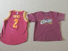 Cleveland cavaliers Kyrie Irving Jersey and Tshirt size youth small