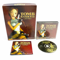 Tomb Raider II (2) for PC CD-ROM by Eidos in Big Box, 1997, Action, VGC, CIB