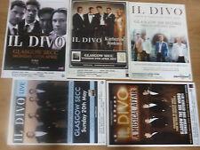 Il Divo live music memorabilia - Scottish tour Glasgow concert gig posters x 5