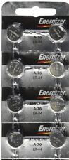 12 FRESH Energizer A76 LR44 AG13 L1154 G13 V13GA Alkaline Button Batteries